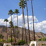 Cabanas Palm Springs Art Print