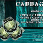 Cabbage Farm Art Print