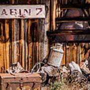 Cabin 2 Art Print
