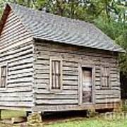 Cabin In Pittsboro Nc Art Print