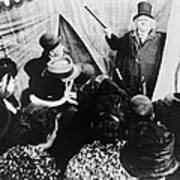 Cabinet Of Dr. Caligari Art Print