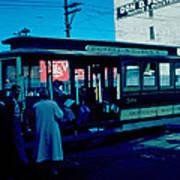 Cable Car 1955 Art Print