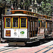Cable Car - San Francisco Art Print