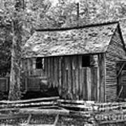 Cable Grist Mill 1 Art Print by Mel Steinhauer