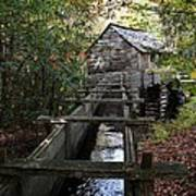 Cable Grist Mill 3 Art Print by Mel Steinhauer