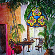 Cabo Cafe Art Print