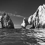 Cabo In Black And White Art Print
