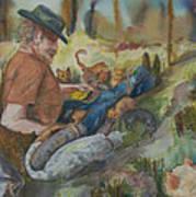 Caboodle Ranch Cats Art Print