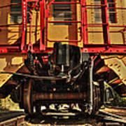 Caboose On The Loose Art Print