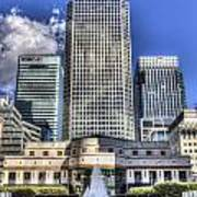 Cabot Square London Art Print