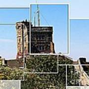 Cabot Tower Montage Art Print