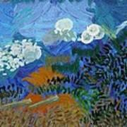 Cabot Trail Along The Cape Breton Coast Art Print