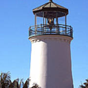 Cabrillo Street Lighthouse Art Print