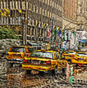 Cabs In The Canyons Art Print