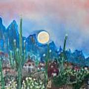 Cactus Valley Art Print