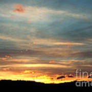 Cades Cove Sunset Art Print