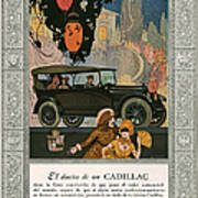 Cadillac 1920 1920s Usa Cc Cars Art Print by The Advertising Archives