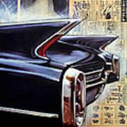Cadillac Attack Art Print