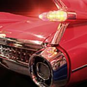 Cadillac Fin Tail Art Print