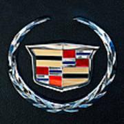 Cadillac Emblem Art Print