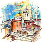 Cadiz Spain 02 Art Print