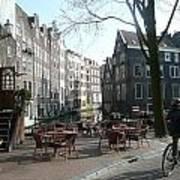 Cafe Amsterdam Art Print