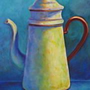 Cafe Au Lait Art Print