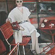 Cafe Budapest Art Print