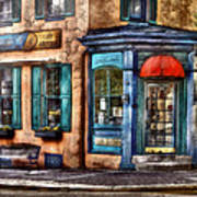 Cafe - Cafe America Art Print by Mike Savad