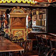 Cafe Chez Eugene - Montmartre Art Print