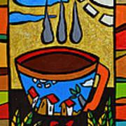 Cafe Criollo  Art Print