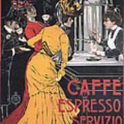 Cafe Espresso Art Print