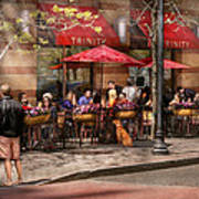Cafe - Hoboken Nj - Cafe Trinity  Art Print