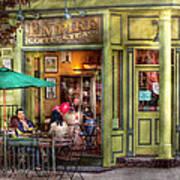 Cafe - Hoboken Nj - Empire Coffee And Tea Art Print