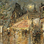 Cafe La Marin. Paris Art Print