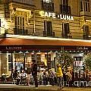 Cafe Luna Art Print