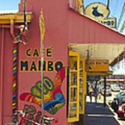 Cafe Mambo Paia Maui Hawaii Art Print