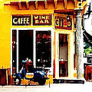 Caffe Ciao Art Print