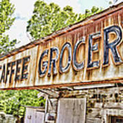 Caffee Grocery Art Print