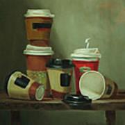 Caffeine Buzz Art Print