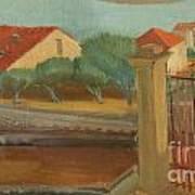 Cagnes-sur-mer Art Print