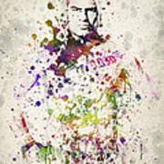 Cain Velasquez Art Print by Aged Pixel