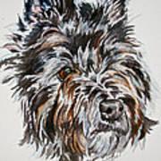 Cairn Terrier Martha Art Print