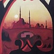 Cairo At Egypt Art Print