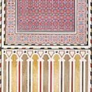 Cairo Decoration Of The El Bordeyny Art Print
