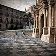Calahorra Cathedral And Palace Art Print