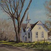 Calapooia Church Art Print