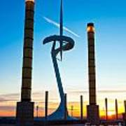 Calatrava Tower - Barcelona Art Print