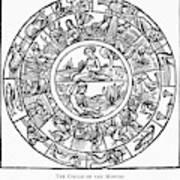 Calendar, 1503 Art Print