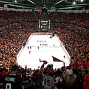 Calgary Flames V Anaheim Ducks - Game Art Print